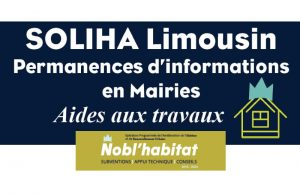 Permanences de SOLIHA Limousin