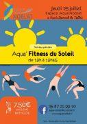 Aqua'Fitness de l'été à la piscine