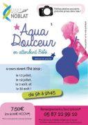 Aqua'Douceur pour les futures mamans à la piscine