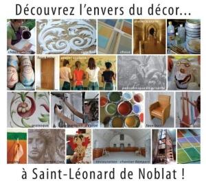 Découvrez l'envers du décor avec l'Atelier Polychromies de Sandrine Rongier à Saint Léonard de Noblat, peintre en décor du patrimoine