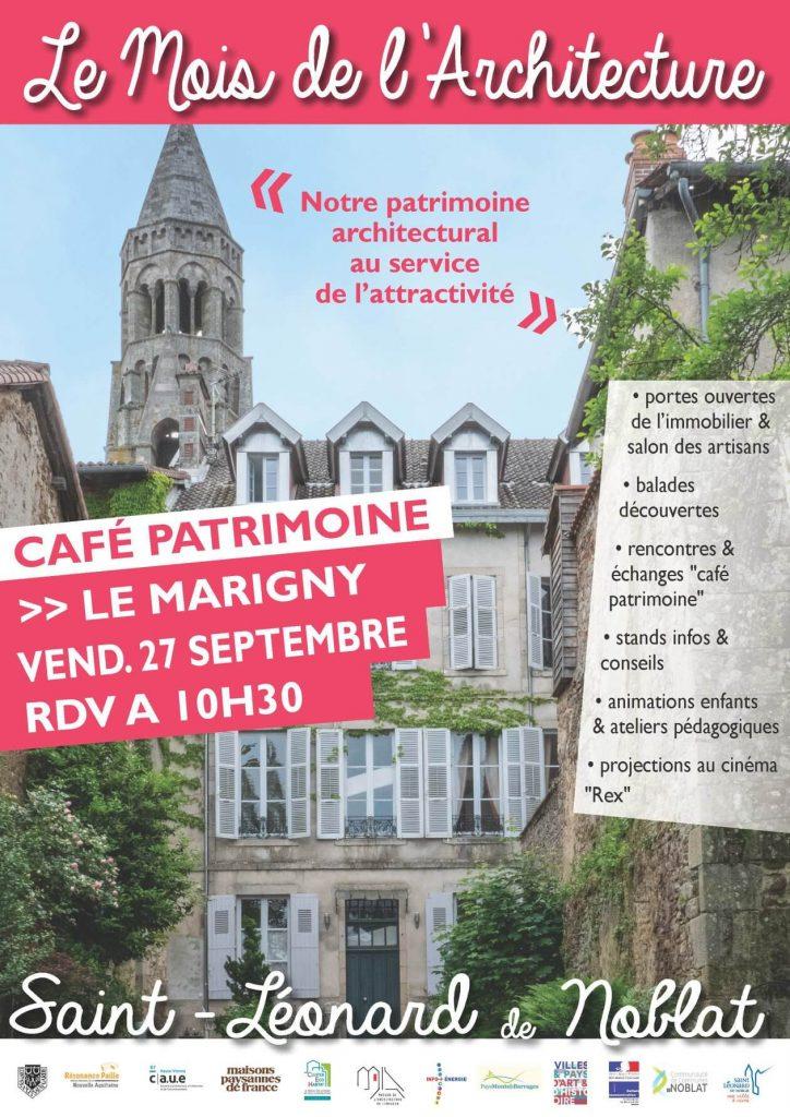 Les cafés du patrimoine
