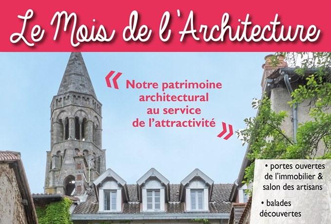 Lancement du Mois de l'Architecture 2019