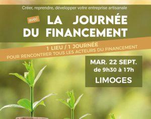 Visuel de la Journée du Financement